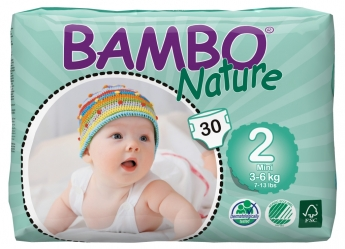 Bambo Nature 2 Mini, 30ks, pro 3-6 kg