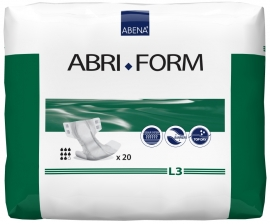 Abri Form L3, 20ks, savost 3600ml