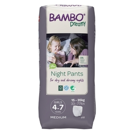 Bambo Dreamy Nights PANTS 4-7 GIRL, 15-35 kg